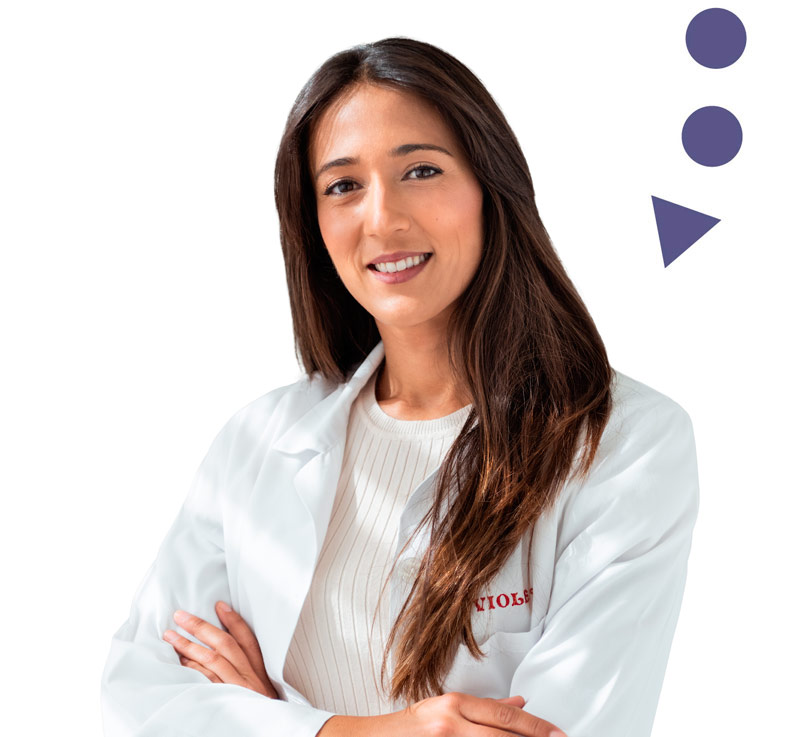 Violeta Fernández Raffo Nutricionista Cádiz Clínica del dolor Sinalgia