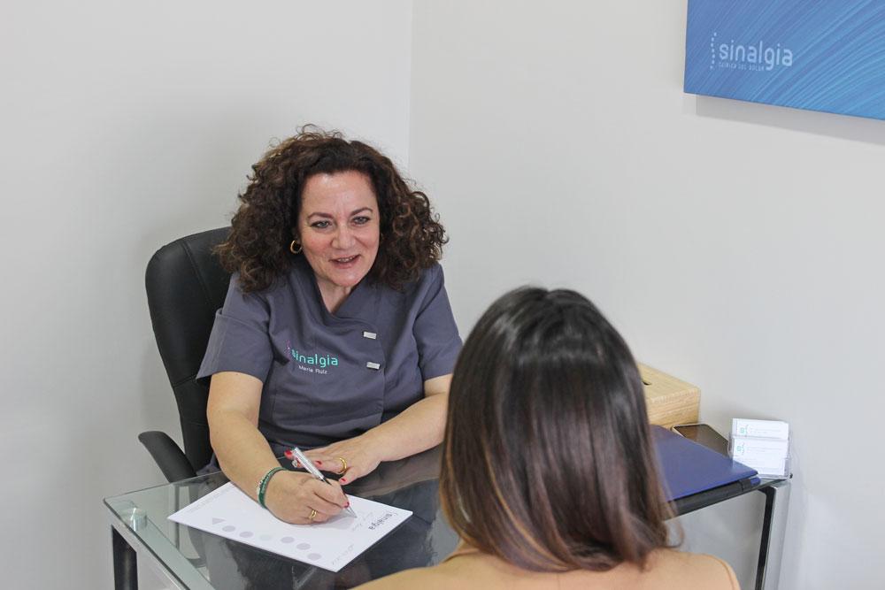 María Ruíz Moreno Psicóloga Clínica Sinalgia en Cádiz